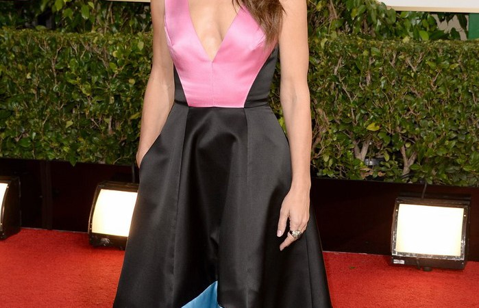 Los vestidos de los Globos de Oro 2014