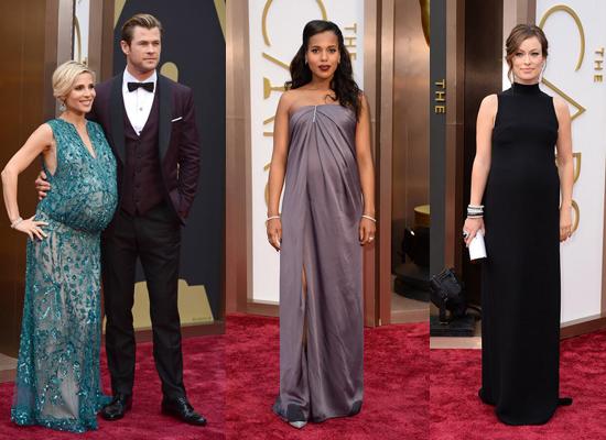Vestidos Oscars embarazadas