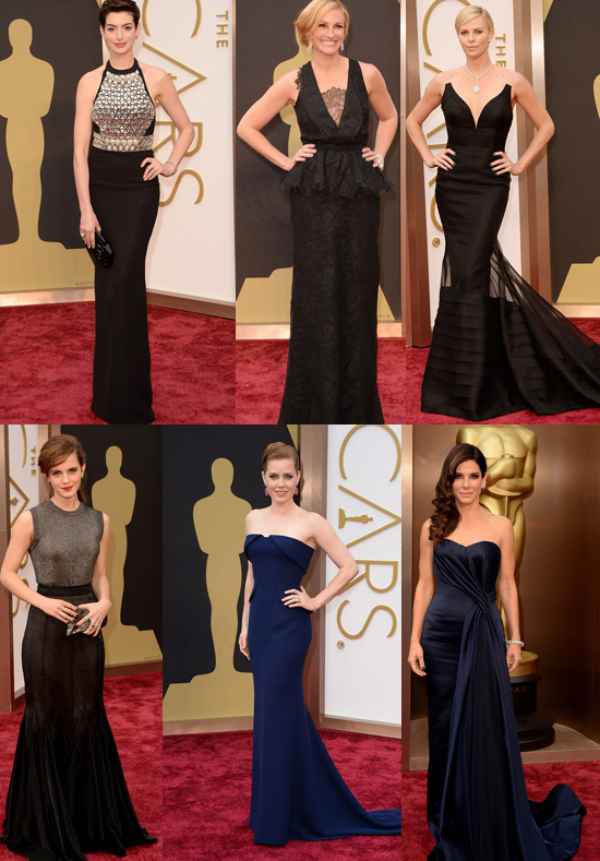 Vesitdos Oscars oscuros