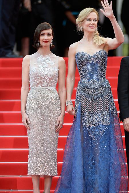 Nicole Kidman y Paz Vega en el Festival de Cannes 2014
