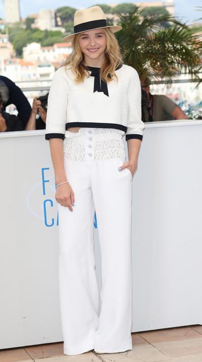 Chloe Moretz en el Festival de Cannes 2014