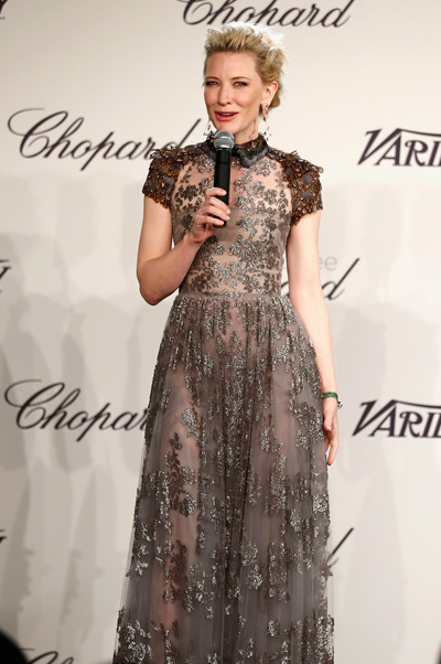 Cate Blanchett en el Festival de Cannes 2014