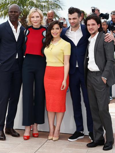 America Ferrera y Cate Blanchett en el Festival de Cannes 2014