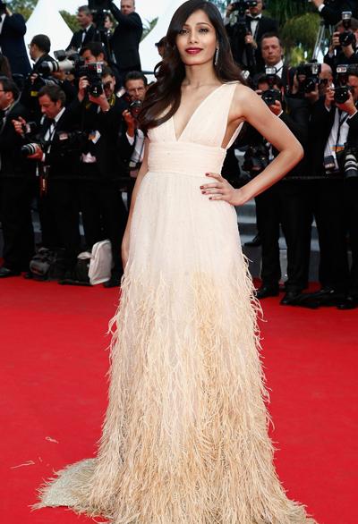 Freida Pinto en el Festival de Cannes 2014