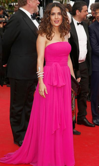 Salma Hayek en el Festival de Cannes 2014