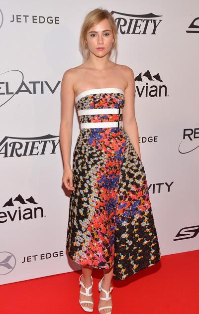 Suki Waterhouse en el Festival de Cannes 2014