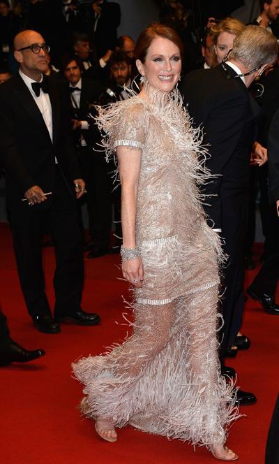 Julianne Moore en el Festival de Cannes 2014