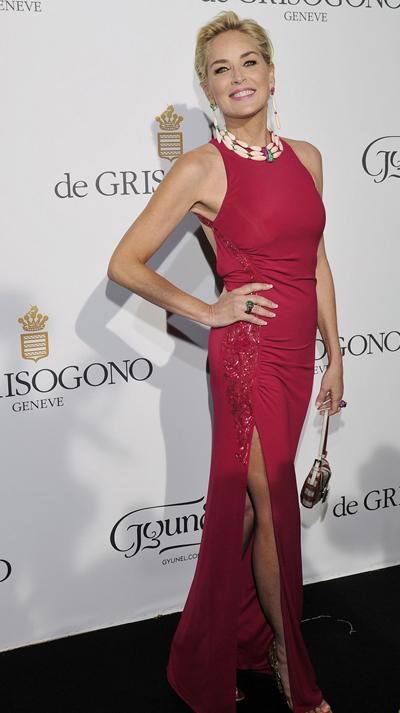 Sharon Stone en el Festival de Cannes 2014
