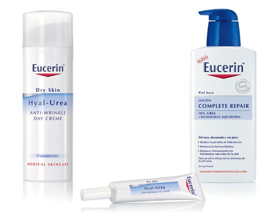 EUCERIN trata la piel seca a causa del tiempo y la edad