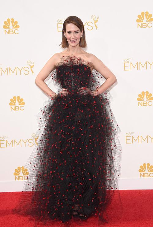 Sarah Paulson en los Premios Emmy 2014