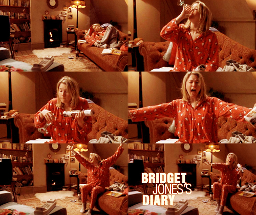Me siento como Bridget Jones