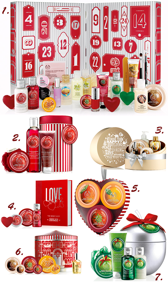 Packs de Navidad de The Body Shop