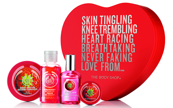 Pack San Valentín de The Body Shop