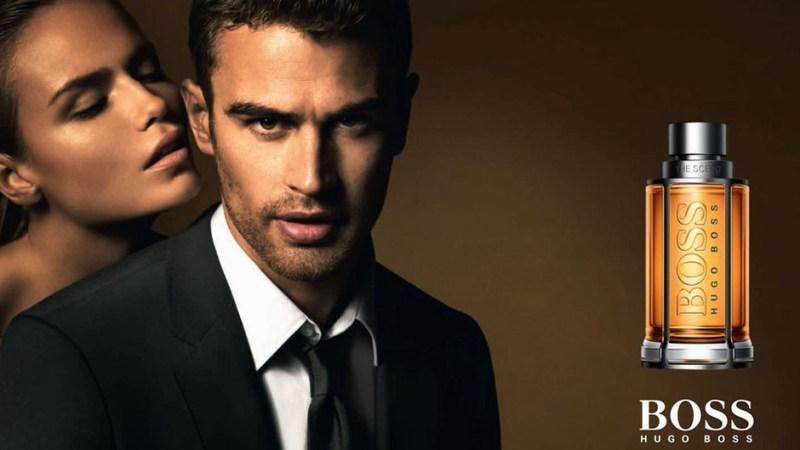 Theo James, nueva imagen del perfume The Scent de BOSS Parfums