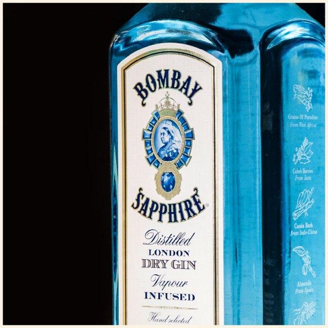 Botella de Bombay Sapphire