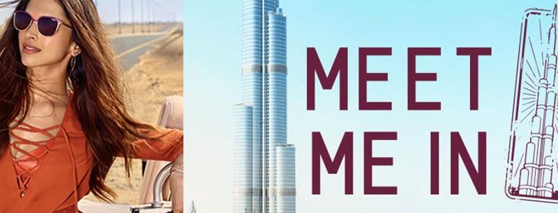 Vogue Eyewear te lleva a Dubai