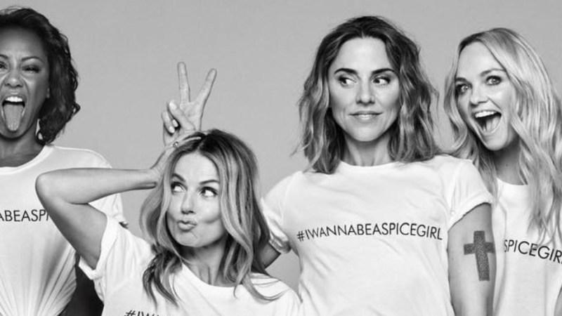 Las Spice Girls lanzan una camiseta solidaria