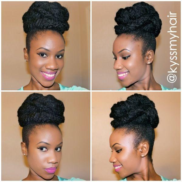 3 Quick And Easy Marley Hair Bun Tutorials Bglh Marketplace
