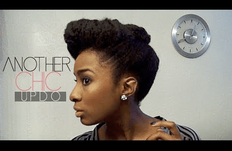 6 Cute Updos For Stretched Or Twisted Natural Hair Bglh Marketplace