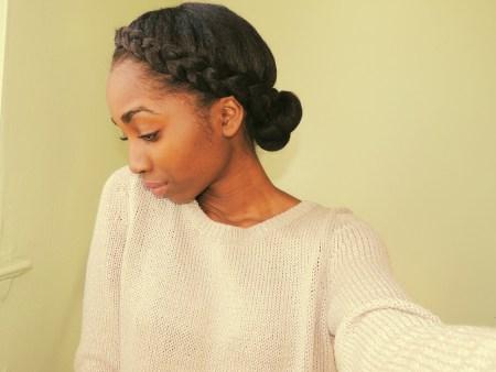 5 Ways To Do Milk Maid Halo Crown Goddess Braids On Natural Hair