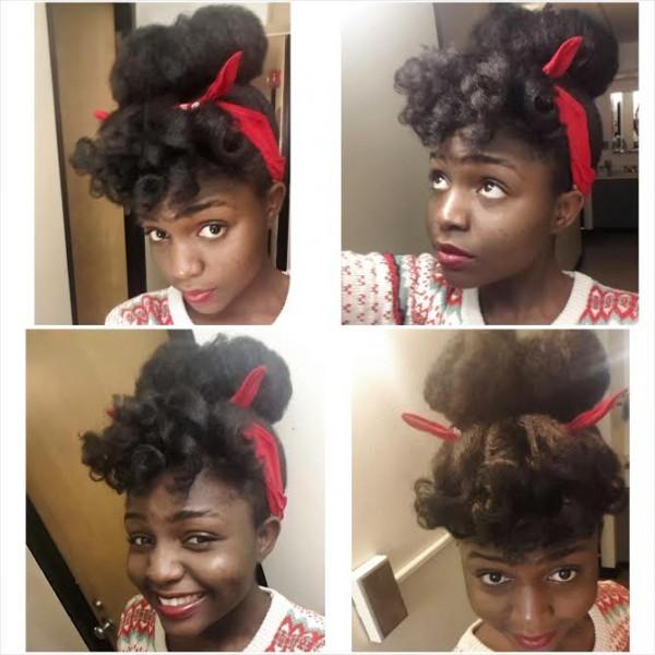 Aboyowa From Nigeria 4c Natural Hair Style Icon Bglh Marketplace