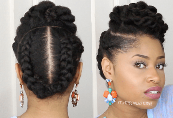5 Gorgeous Natural Hair Styles That Are Super Easy To Do Bglh