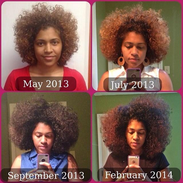 8 More Inspiring Photos of Amazing Natural Hair Journeys ...