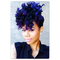 Semi Permanent Hair Dye and Clear Rinses for Natural Hair ...