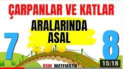 ARALARINDA ASAL / 7'DEN 8'E LGS 2021 MATEMATİK KAMPI #4