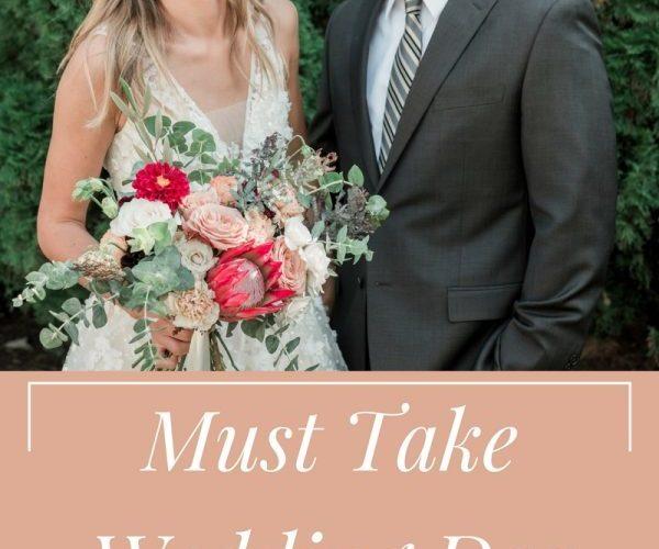 Wedding Day Photos Checklist