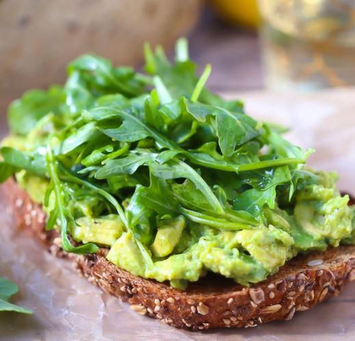 Lemon Zest Avocado Toast from What Should I Make For...