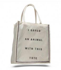 Hendrick & Co. I Saved Shopper Tote, $18.99, Photo Cred: Hendrick & Co.