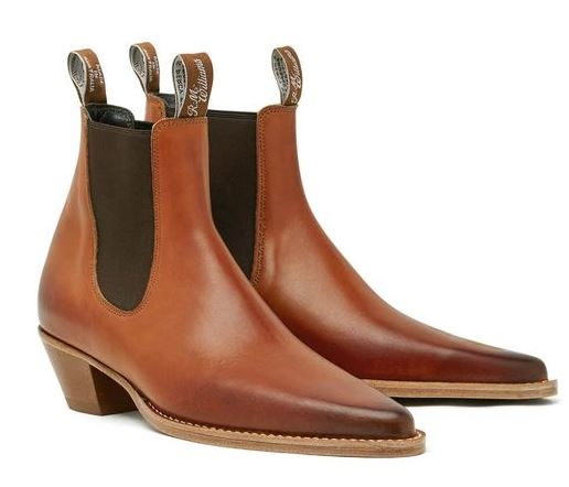 R.M. Williams Millicent Boot in Brown, AU $695, Photo Cred: R.M. Williams