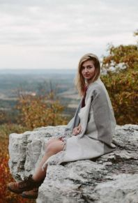 United By Blue Adirondack Throw Blanket, $145, Photo Cred: United By Blue