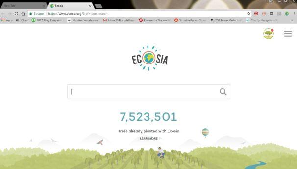 Ecoasia Search Engine