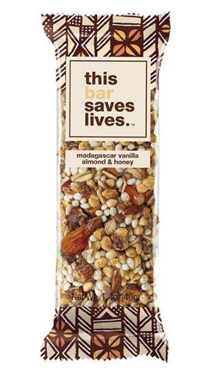 Madagascar Vanilla Almond & Honey Bar from this bar saves lives, Photo Cred: this bar saves lives