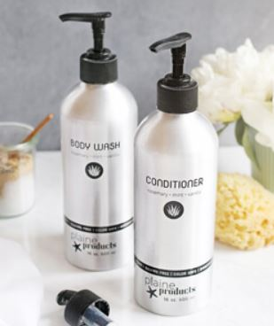 Plaine Products Conditioner + Body Wash, Photo Cred: Plaine Products