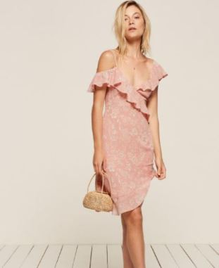 Reformation Adora Dress, $248; Photo Cred: Reformation