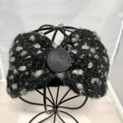 Hand knit ear warmer