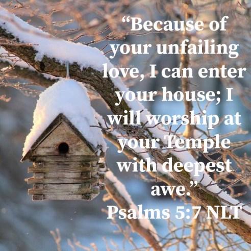 Psalm 5:7