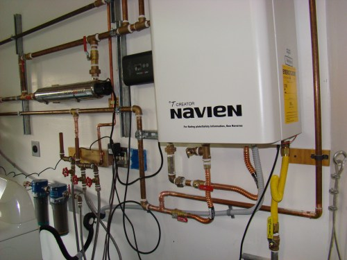 small resolution of san jose navien tankless water heater softener filter combo and repiping