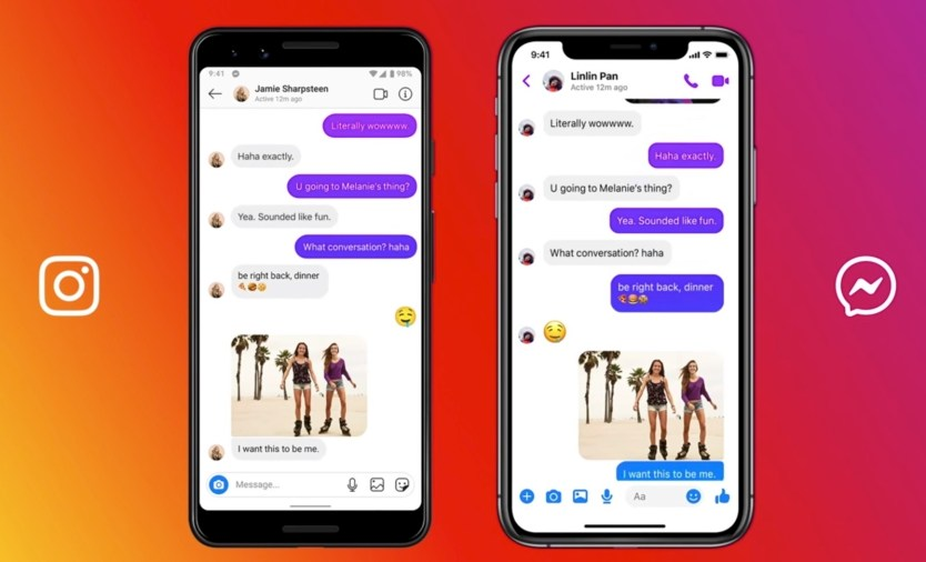 Messenger-Instagram Chat