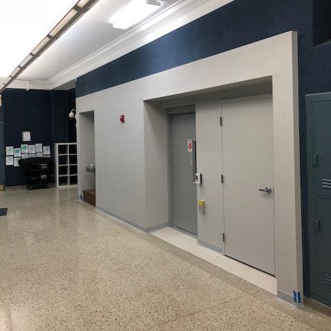 ADA lift installation