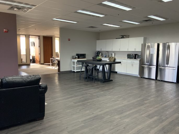 Orlando Construction Kitchen of Corporate Office Remodel