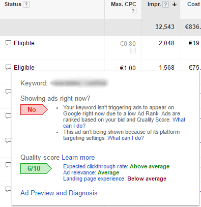adwords-below-average-landing-page-experience
