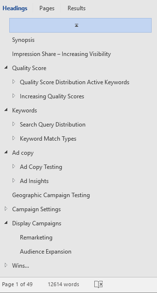 AdWords Audit TOS