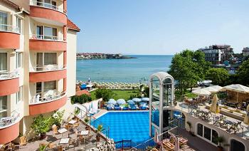 Хотел Вила Лист Созопол - на плажа
