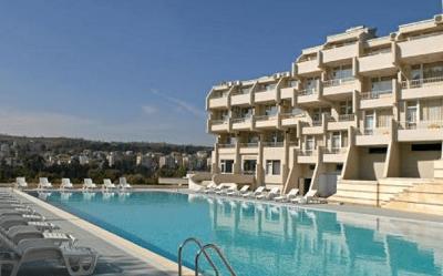Минерален басейн на СПА хотел Панорама в Сандански
