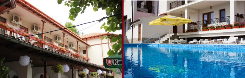 Хотел Средна Гора 2 с външен топъл минерален басейн, Стрелча