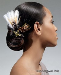Black Wedding Hairstyle Ideas For Bridesmaids  Background